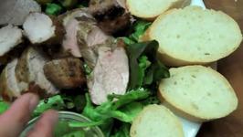 Garlic and Balsamic Marinated Seared Pork Tenderloin