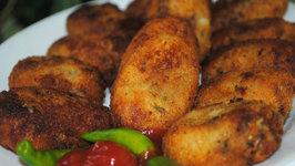 Chicken CutletVegetable Cutlets Fish Cutlets