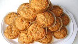 Apple Doughnut Buffins