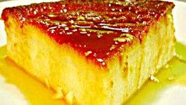 Eggless Caramel Custard