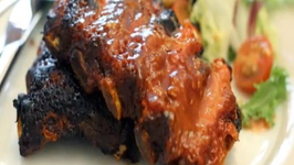 BBQ Ribs on Charcoal Grill - Quick and Easy