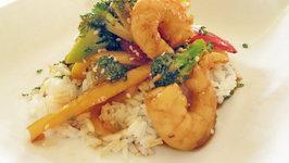Hot Shrimp In Soy Sauce