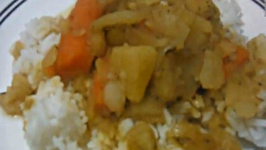 Curry Potatoes and Carrots