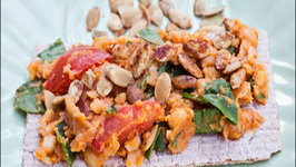 Vegan Chickpea Pumpkin Spread