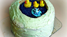 Giant Duck Pond Cake