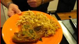 Veal Marsala with Pasta