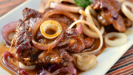 Pork Bistek - Filipino Pork Steak