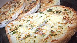 Garlicky Cheezy Toast