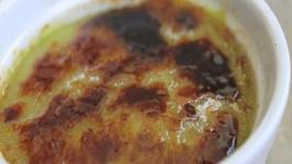No-Bake Avocado Crème Brûlée