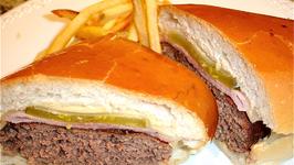 Pressed Cuban Hamburger