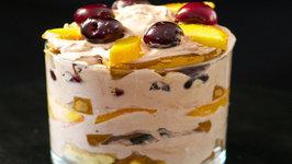 Stemilt Cherry and Chocolate Layer Cake