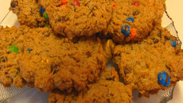 Betty's M and M Monster Cookies