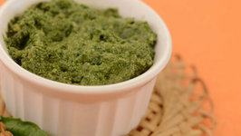 Pesto Sauce by Tarla Dalal