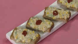 Corn and Cheese Toast (Calcium Rich Recipe)