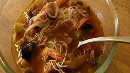 Pan Asian Spicy Korean-Chinese Seafood Soup (Jjampong)