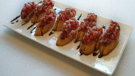 Brittany Allyn - Savor the Flavors - Grilled Bruschetta