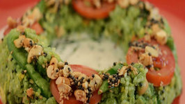 Corn and Vegetable Ring with Coconut Curry by Tarla Dalal