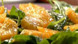 Mediterranean Orange and Arugula Salad