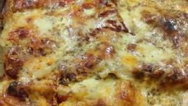 Simple Homemade Vegetarian Lasagna