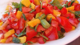 Mango-Tomato Summer Salsa