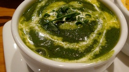 Hot Spinach Dhal