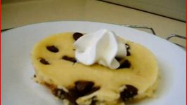Solar Cooked Mini Pancake with Chocolate Chips