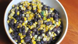 Mexicali Corn and Bean Bake