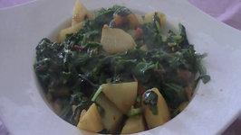 Mixed Greens Masala  Indian Vegetarian