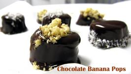 No Bake Dessert Chocolate Banana Pops