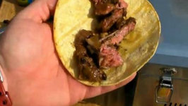 Beef Fajitas on the Solaire Anywhere Portable Stainless Steel Infrared Grill Model  SOL-IR17M