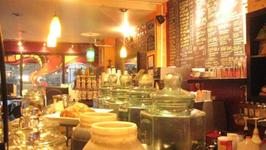 Weekends of coffee, sandwiches, hummus and more at the B cup cafe.