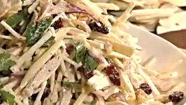 Turkey Salad - Simple Turkey Salad With Celery Root and Apple