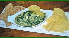 Cookin Greens Chopped Spinach and Artichoke Dip