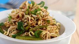Bean Sprouts and Capsicum Salad (Calcium Rich)
