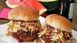 Venison Burger In BBQ Sauce
