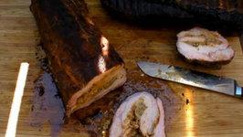 Boudin Stuffed Pork Loins