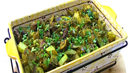 Ubadiyu or Umbadiyu - Spicy Seasonal Vegetables