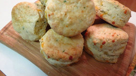 Cheddar and Garlic Biscuits