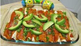 Tasty Chicken Enchiladas
