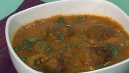 Bread Kofta Curry