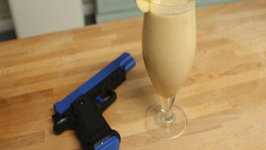 Geek Week Lara Croft's Peanut Butter Power Breakfast Smoothie