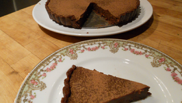 Raw Vegan Bittersweet Chocolate Tart