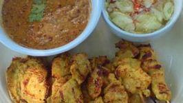 The Best Thai Chicken and Pork Satay