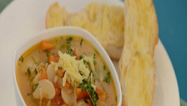 Butter Bean and Vegetable Soup by Tarla Dalal