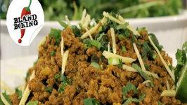 Keema or Curried Ground Beef