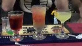 Georgia Peach Cocktail, Three Variants