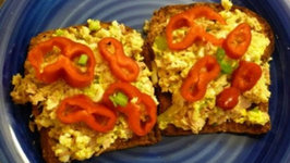 No Mayo Tuna Salad Sandwich