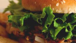 High Protein Indian Style Chicken Burger