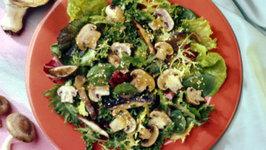 Grilled Mushroom Oriental Salad