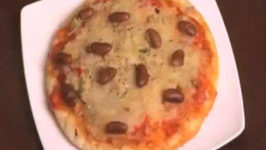 Pizza - Mexican Herb and Beans Pizza